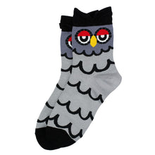 Load image into Gallery viewer, Bert Socks Grey Owl