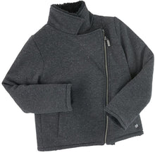Load image into Gallery viewer, Grey Sparkle Kids Jacket