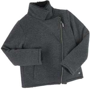 Grey Sparkle Kids Jacket