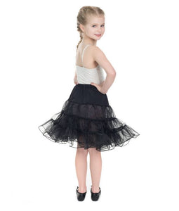 Kids Petticoat Black