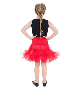 Kids Petticoat Red