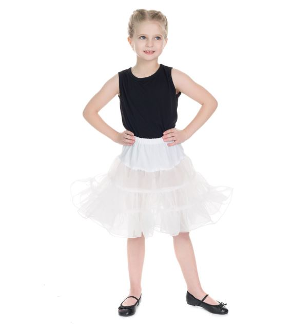 Kids Petticoat White