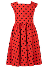 Load image into Gallery viewer, Ladybird Kids Dress Red