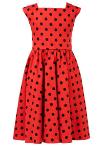 Ladybird Kids Dress Red