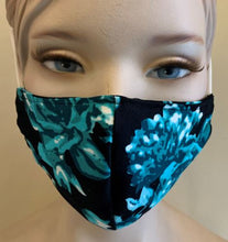Load image into Gallery viewer, Madchique Face Mask Luana Black
