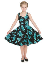 Load image into Gallery viewer, Luana Kids Dress Black