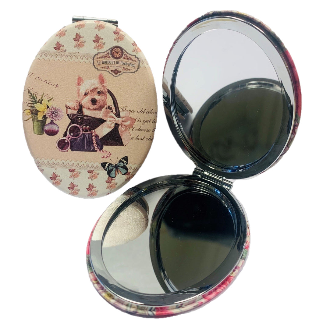 Maltese Oval Mirror