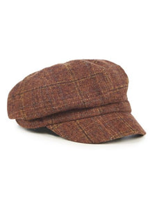 News Boy Cap Brown
