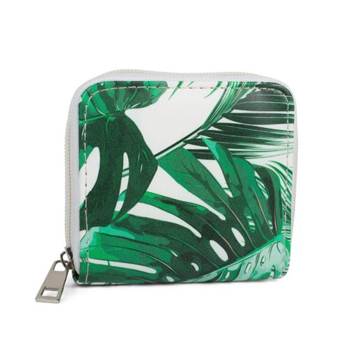 Green Leaf Wallet Small