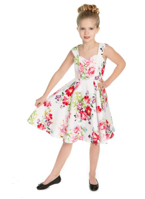 Paradise Rose Kids Dress
