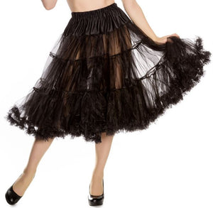 Petticoat Black Long