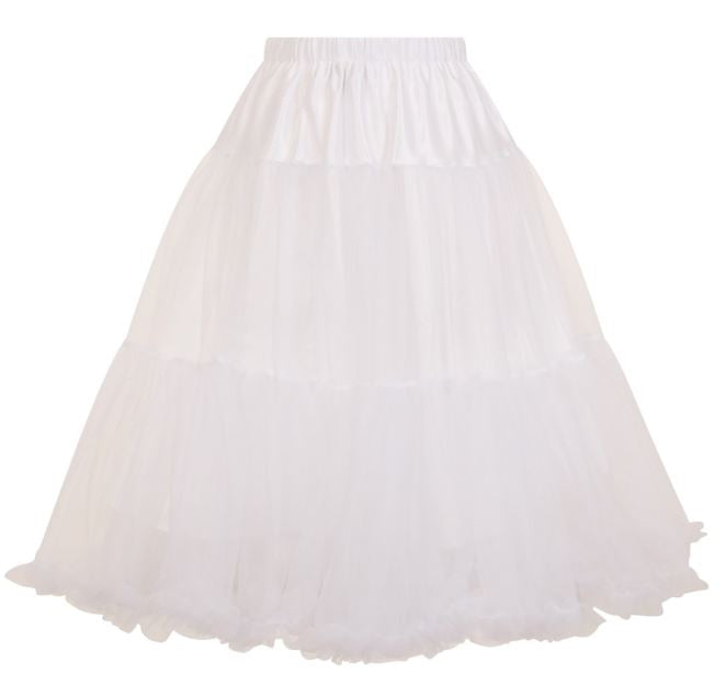 Polly Petticoat White Long