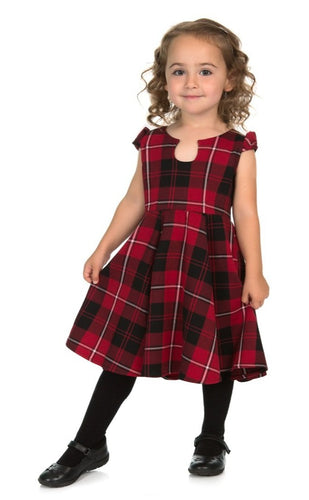 Red Tartan Kids Dress