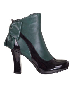 Sadie Ankle Boot Green