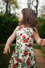 Load image into Gallery viewer, Summers Bloom Kids Dress White