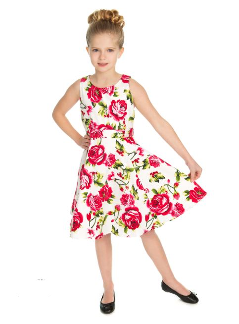 Sweet Rose Kids Dress