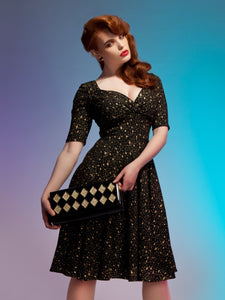 Atomic Star Dress Gold