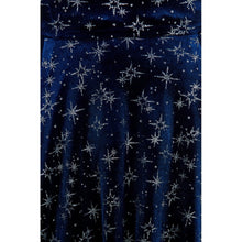 Load image into Gallery viewer, Atomic Star Dress Velvet Blue