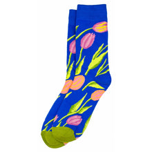 Load image into Gallery viewer, Bert Socks Tulip Blue