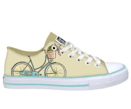 Yellow Bike Kids Sneakers