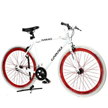 Caraci Fixed Gear Fixies F1.0 White Red