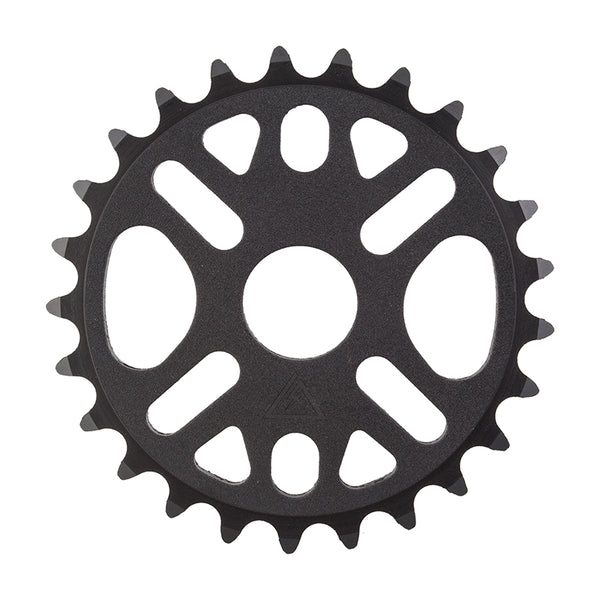 Black Ops Micro Drive II Chainring, 1pc/3pc, 25T, Black
