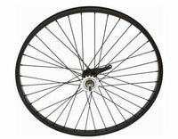 "26"" x 2.125"" Alloy Coaster Wheel 105g Black"