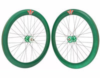700c V 60mm Alloy Wheel Set Sealed Bearing Fixie Rims