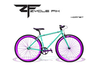 41 cm small fixed gear bike
