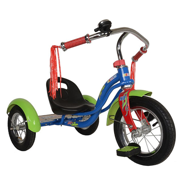 NASCAR Burn'in Rubbber 12 Tricycle