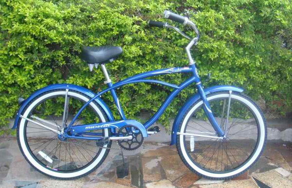 "Micargi Tivola 24"" Men Beach Cruiser / Beach Cruiser Bicycle"