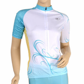Cycle Force Triumph Womens Blue Cycling Jersey