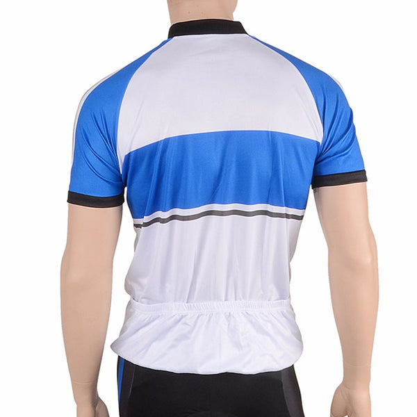 Cycle Force Triumph Mens Blue Cycling Jersey