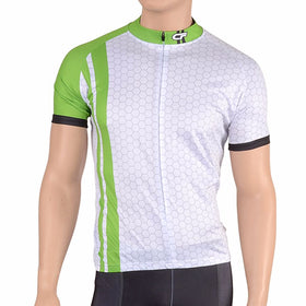 Cycle Force Triumph Mens Lime Green Cycling Jersey