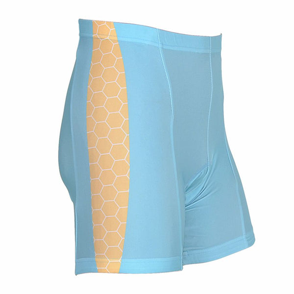 Cycle Force Triumph Womens Blue Cycling Shorts