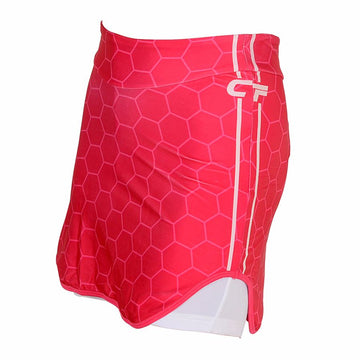 Cycle Force Triumph Womens Pink 6 Panel Cycling Skirt Shorts