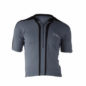 M-Wave Dark Grey/Black Mens Bicycle Jersey