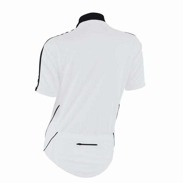 M-Wave White/Black Womens Bicycle Jersey