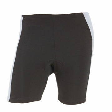 M-Wave Black/White Mens Bicycle Shorts