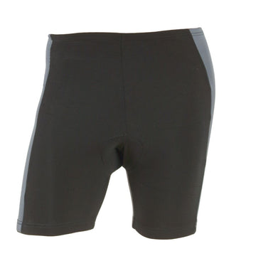 M-Wave Black/Dark Grey Mens Bicycle Shorts