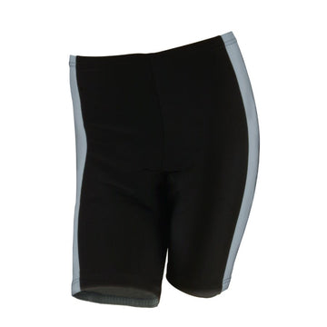 M-Wave Black/Dark Grey Womens Bicycle Shorts