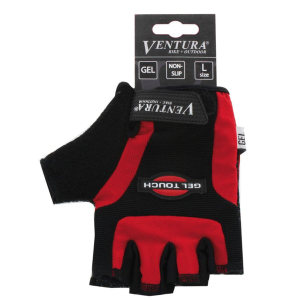 Ventura Red Gel Touch Glove