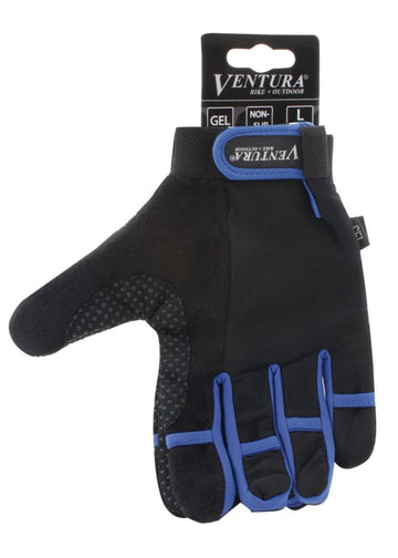 Ventura Blue Full Finger Touch Glove