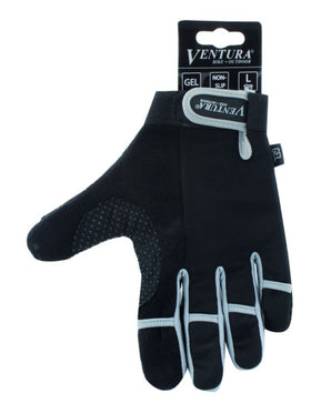 Ventura Gray Full Finger Touch Glove