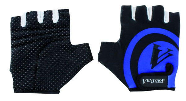 Ventura Blue Touch Glove in Size S/M