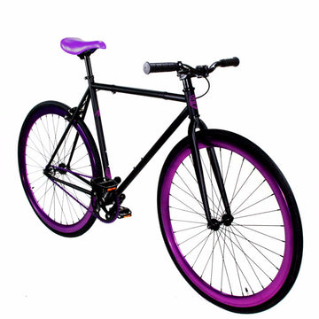 Zycle Fix Fixed Gear Bike Grape Soda Fixie