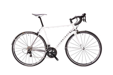 Bombtrack Audax 700C Urban Racing Road Bicycle Metallic White