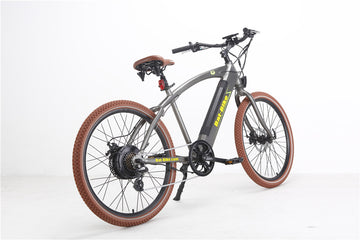 Bat-Bike Bat Cruiser Electric Bicycle - Metallic Grey