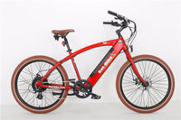 Bat-Bike Bat Cruiser Electric Bicycle - Metallic Red