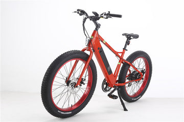 Bat-Bike Big Foot Electric Fat Tire Bike - Metallic Red